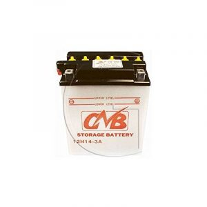 Batterie 12N14 3A - Tracteur Tondeuse Autoportée de la marque JARDINVEST image 0 produit