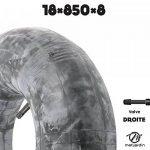 Chambre à air spéciale motoculture 18 x 850 x 8 valve droite de la marque matijardin image 1 produit