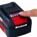 Einhell Tondeuse à gazon sans fil GE-CM 36 Li Power X-Change (Li-lon, 2 x 18 V / 2 x 3,0 Ah, Régime 3.000 trs/min, Largeur de coupe 36 cm, Hauteur de coupe 6 positions (25-75 mm), Bac de ramassage rigide de 40 l) de la marque Einhell image 3 produit