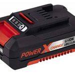 Einhell Tondeuse sans fil GE-CM 33 Li Power X-Change (lithium ion, 18V, jusqu'à 200 m², réglage de la hauteur de coupe à 5 positions, y compris 2 batteries de 2,0 Ah et 2 chargeurs) de la marque Einhell image 3 produit
