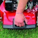 Einhell Tondeuse thermique GC-PM 46/2 S HW-E (1.9 kW, Réservoir carburant 1.300 ml, Démarrage électrique (Fonction E-Start), Largeur de coupe 46 cm, hauteur de coupe 6 positions (30-80 mm), Bac de ramassage de 70 l) de la marque Einhell image 5 produit
