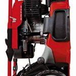 Einhell Tondeuse thermique GC-PM 47 S HW (1.8 kW,Réservoir carburant 1.200 ml ,Largeur de coupe 47 cm, Hauteur de coupe 6 positions (25-70 mm), Bac de ramassage de 75 l + 2 poignées pour la vidange,Fonction Mulching 5 en 1) de la marque Einhell image 2 produit