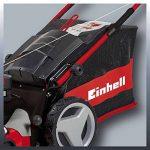Einhell Tondeuse thermique GC-PM 47 S HW (1.8 kW,Réservoir carburant 1.200 ml ,Largeur de coupe 47 cm, Hauteur de coupe 6 positions (25-70 mm), Bac de ramassage de 75 l + 2 poignées pour la vidange,Fonction Mulching 5 en 1) de la marque Einhell image 4 produit