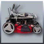 Einhell Tondeuse thermique GC-PM 51/2 HW-E (2.7 kW, Réservoir carburant 1.500 ml, Démarrage électrique (Fonction E-Start),Largeur de coupe 51 cm, hauteur de coupe 6 positions (30-80 mm),Bac de ramassage de 70 l, Fonction Mulching) de la marque Einhell image 1 produit