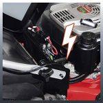 Einhell Tondeuse thermique GC-PM 51/2 HW-E (2.7 kW, Réservoir carburant 1.500 ml, Démarrage électrique (Fonction E-Start),Largeur de coupe 51 cm, hauteur de coupe 6 positions (30-80 mm),Bac de ramassage de 70 l, Fonction Mulching) de la marque Einhell image 6 produit