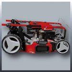 Einhell Tondeuse thermique GC-PM 52 S HW (2.8 kW, Réservoir carburant 1.600 ml, Largeur de coupe 52 cm, hauteur de coupe 6 positions (25-70 mm), Bac de ramassage de 80 l, Fonction Mulching 5 en 1) de la marque Einhell image 2 produit