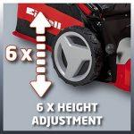 Einhell Tondeuse thermique GC-PM 52 S HW (2.8 kW, Réservoir carburant 1.600 ml, Largeur de coupe 52 cm, hauteur de coupe 6 positions (25-70 mm), Bac de ramassage de 80 l, Fonction Mulching 5 en 1) de la marque Einhell image 6 produit