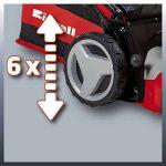 Einhell Tondeuse thermique GC-PM 52 S HW (2.8 kW, Réservoir carburant 1.600 ml, Largeur de coupe 52 cm, hauteur de coupe 6 positions (25-70 mm), Bac de ramassage de 80 l, Fonction Mulching 5 en 1) de la marque Einhell image 5 produit