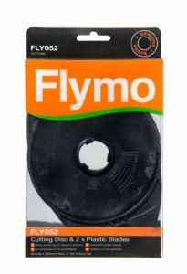 Flymo FLY052 Lames en plastique et disques pour tondeuse à gazon (Import Grande Bretagne) de la marque Flymo image 0 produit