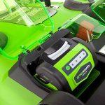 Greenworks Tools 2500207 49cm Tondeuse sans fil doubles lames 40 V Lithium-ion (sans batterie ni chargeur) de la marque Greenworks Tools image 1 produit