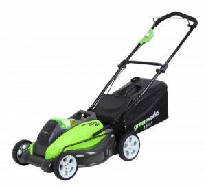 Greenworks Tools Tondeuse à gazon sans fil 45cm 40V Lithium-ion (sans batterie ni chargeur) - 2500107 de la marque Greenworks Tools image 0 produit