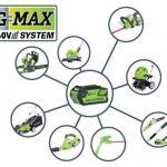 Greenworks Tools Tondeuse à gazon sans fil 45cm 40V Lithium-ion (sans batterie ni chargeur) - 2500107 de la marque Greenworks Tools image 1 produit