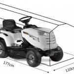 HBCOLLECTION Housse pour tondeuse auto-portée et tracteur 177cm de la marque HBCOLLECTION image 1 produit