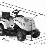 HBCOLLECTION Housse pour tondeuse auto-portée et tracteur 203cm de la marque HBCOLLECTION image 1 produit