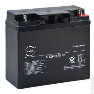 NX - Batterie plomb AGM S 12V-18Ah FR 12V 18Ah T3 - Unité(s) de la marque NX image 0 produit