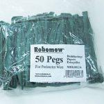 Set de 50 chevilles, convient pour Robomow © 110 et 120 MRK0012A-Accessoires pour robot tondeuse de la marque Robomow image 1 produit