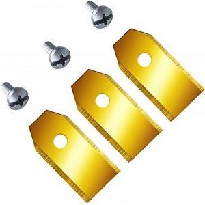 TITANE!! 33 Lame de rechange pour Husqvarna Automower & Gardena 0,6mm/2,4 Taille neuf Lames de la marque Techon image 0 produit